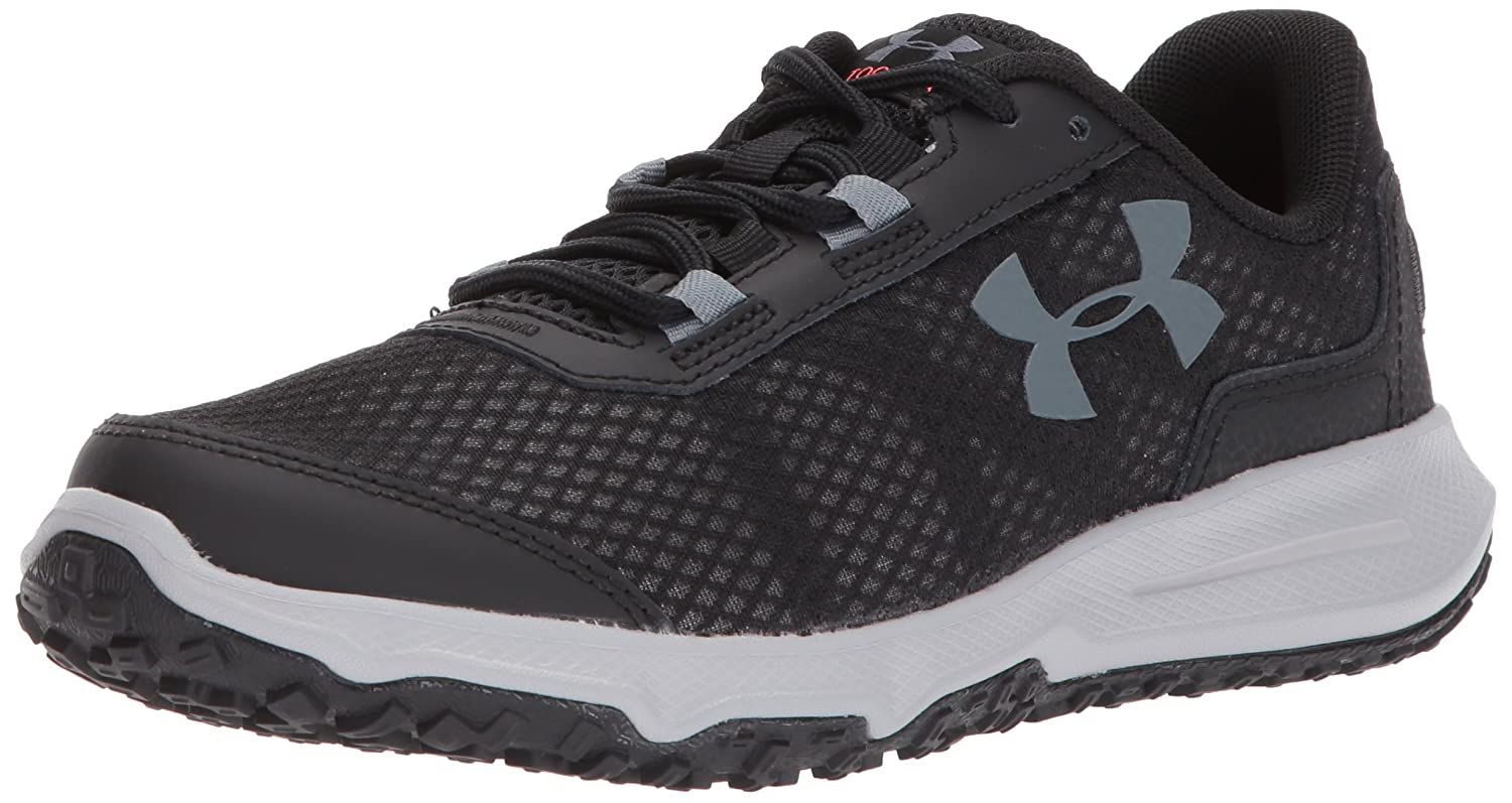 Under Armour Women's Toccoa Running Shoe B01MTZ10EO 6 M US|Black (002)/Overcast Gray