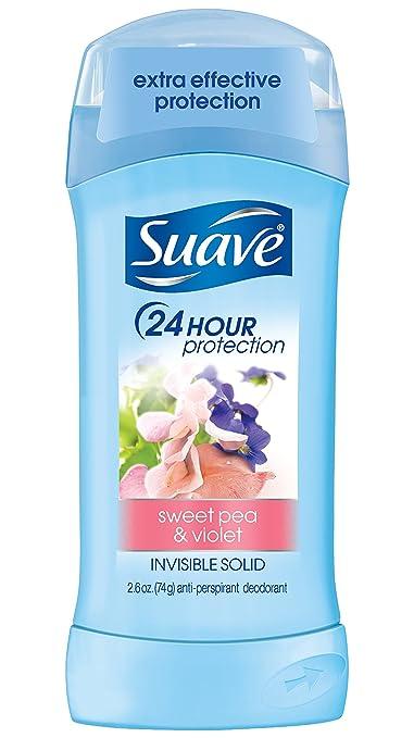 Suave Invisible Solid Anti Perspirant & Deodorant Sweet Pea & Violet 2.6 oz.