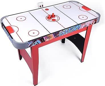 Win.max 4Ft Air Hockey Mesa de juego Con Puntaje Electrónico ...