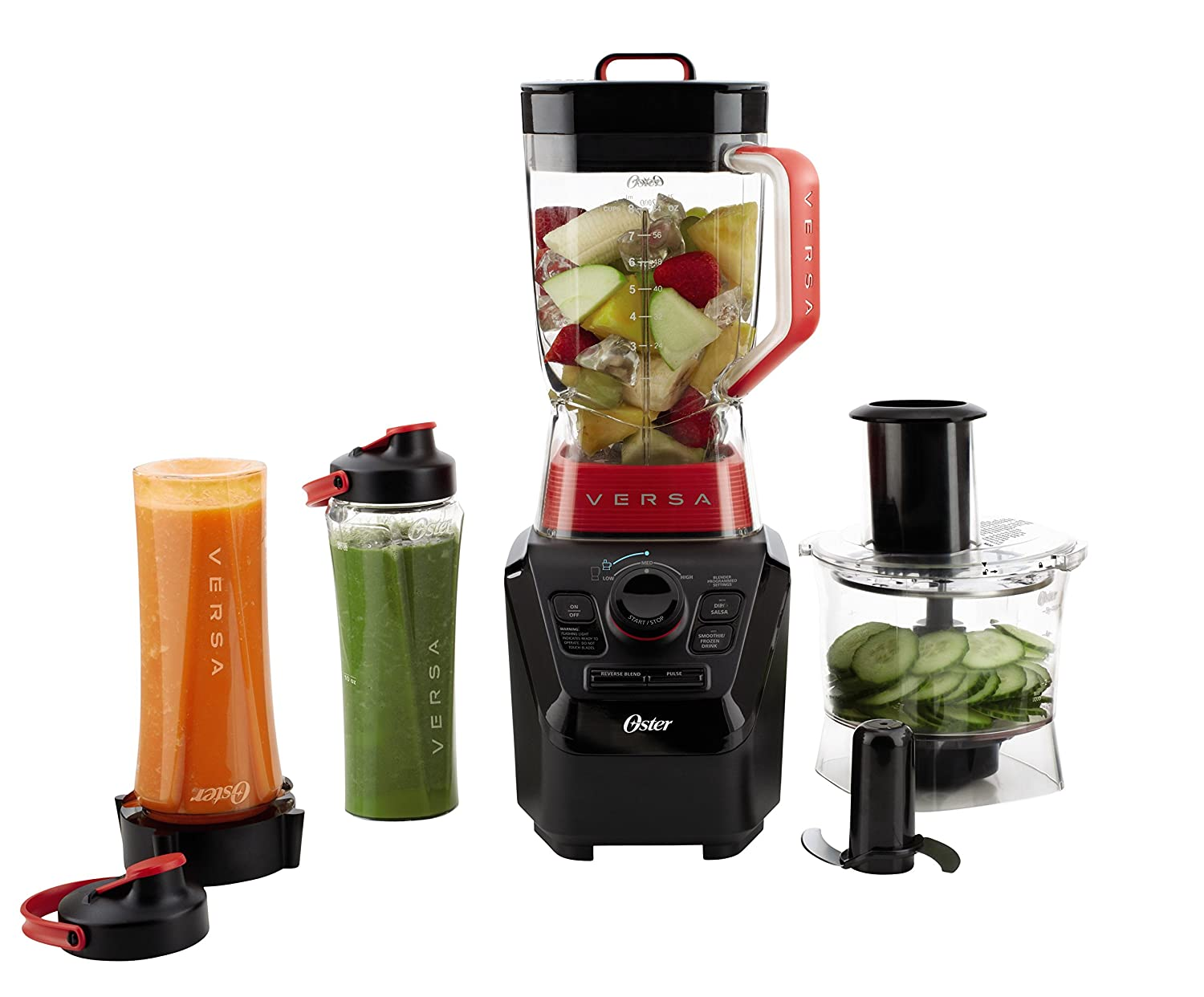 Oster VERSA BLSTVB-RV0-000 1400-watt Professional Performance Blender with Jar and Cookbooks Jarden Consumer Solutions