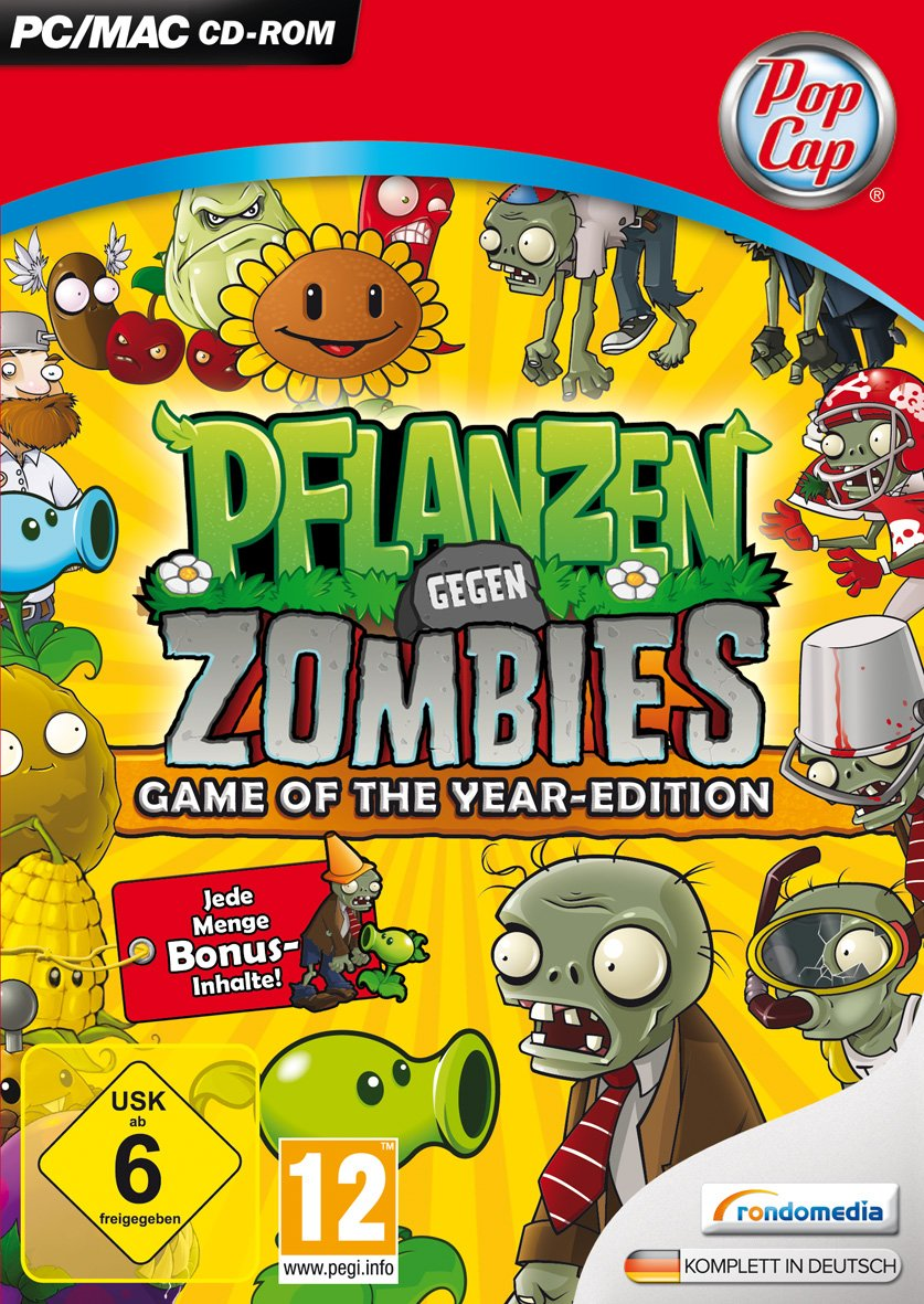 Pflanzen gegen Zombies: Game of the Year-Edition product image