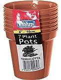Whitefurze G04013 10cm Garden Pot - Terracotta (Set of 7)
