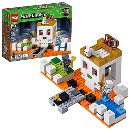 7f04f395bc990 Amazon.com: LEGO Minecraft The Skull Arena 21145 Building Kit (198 Piece):  Toys & Games