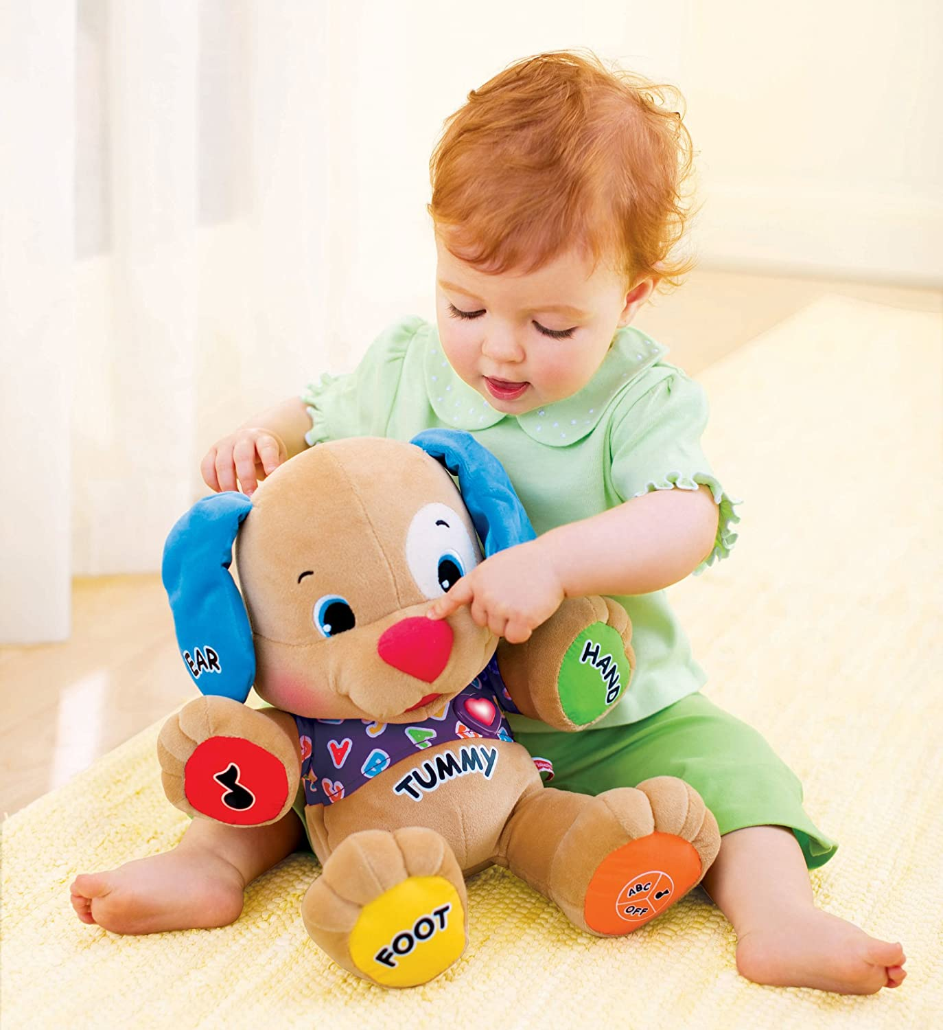 Amazon Fisher Price Laugh & Learn Love to Play Puppy Toys