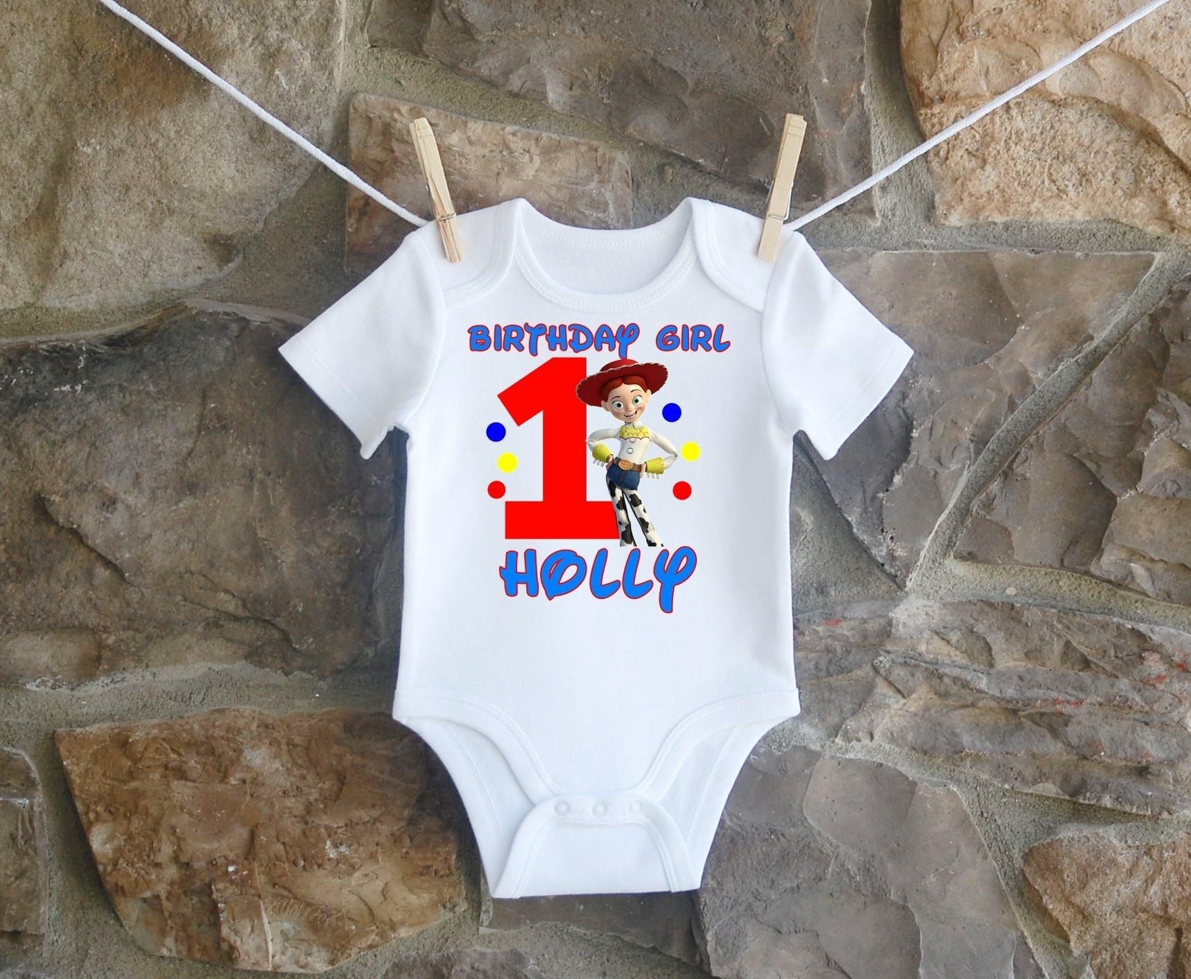 Jesse Birthday Shirt, Jesse Birthday Shirt For Girls, Personalized Girls Toy Story Jesse Birthday Shirt, Customized Toy Story Jesse Birthday Shirt