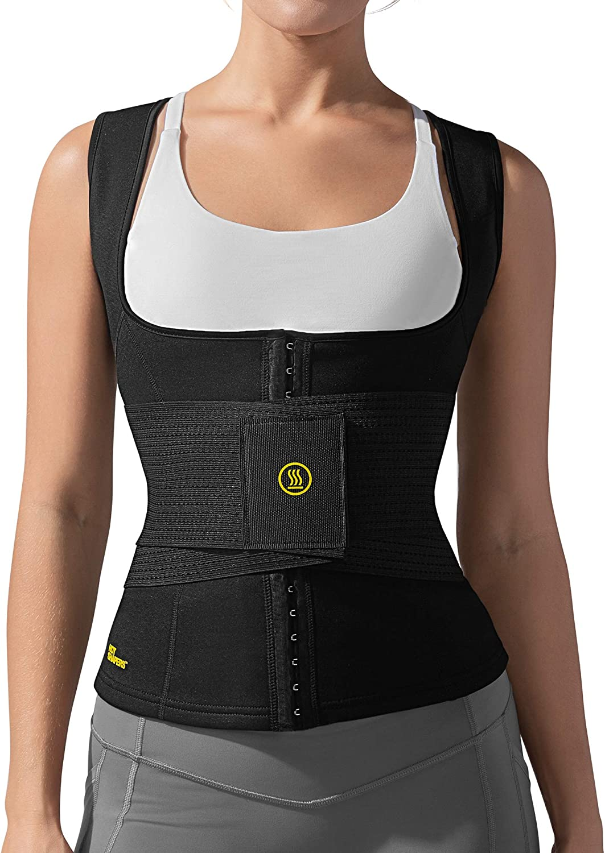 HOT SHAPERS Cami Hot Waist Cincher with Waist Trainer - Women Sweat Vest