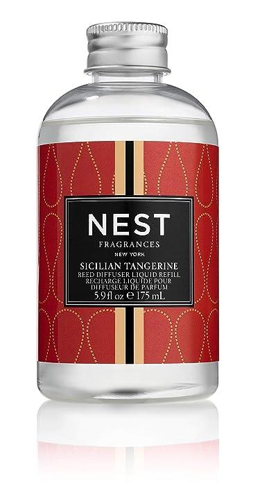 NEST Fragrances Sicilian Tangerine Reed Diffuser Liquid Refill