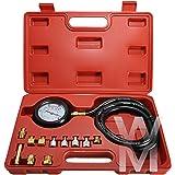 ROYAUME-UNI Vague Box Pression Huile Mètre Kit Test Testeur Jauge Diesel Essence Outil De Garage