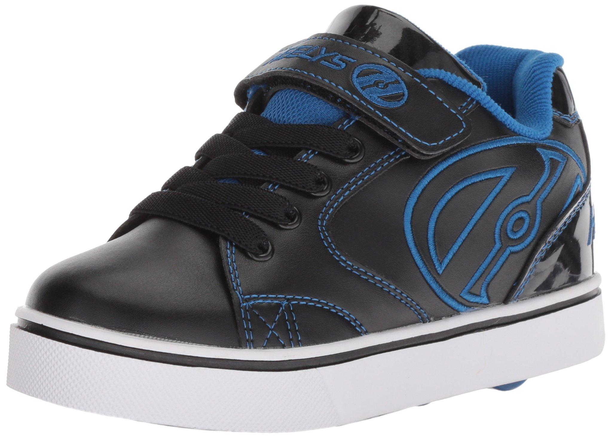 Heelys Boys' Vopel X2 Tennis Shoe, Black/Royal, 3 Medium US Little Kid