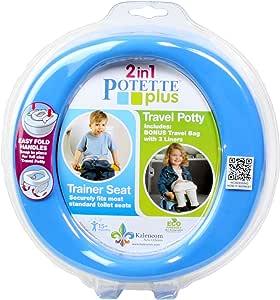 Potette Plus Travel Potty, Blue