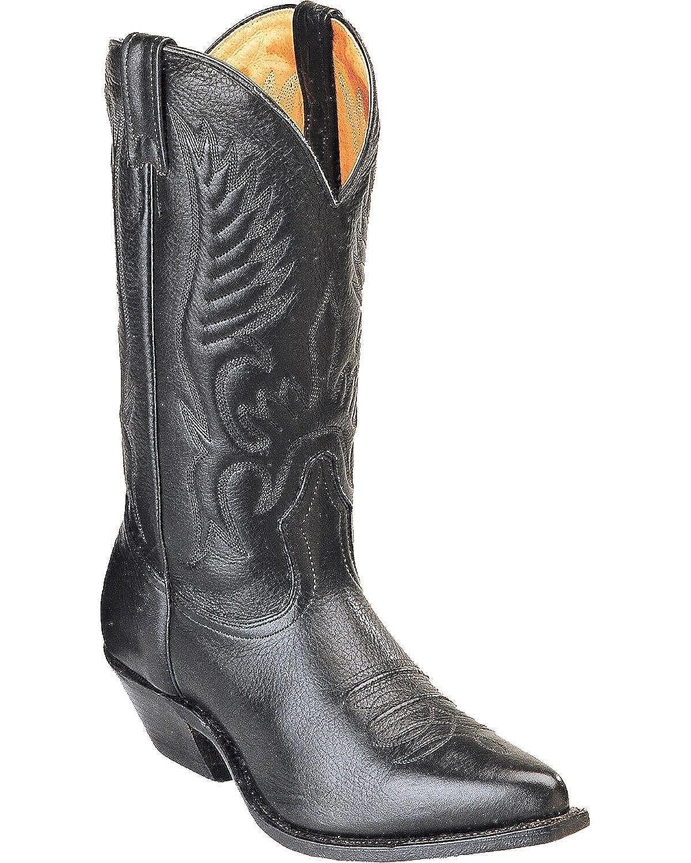 1d71553709a Boulet Men's Fancy Stitched Cowboy Boot Pointed Toe