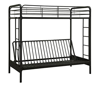 Amazon.com  Dorel Home Products Twin-Over-Full Futon Bunk Bed 37560a2e77
