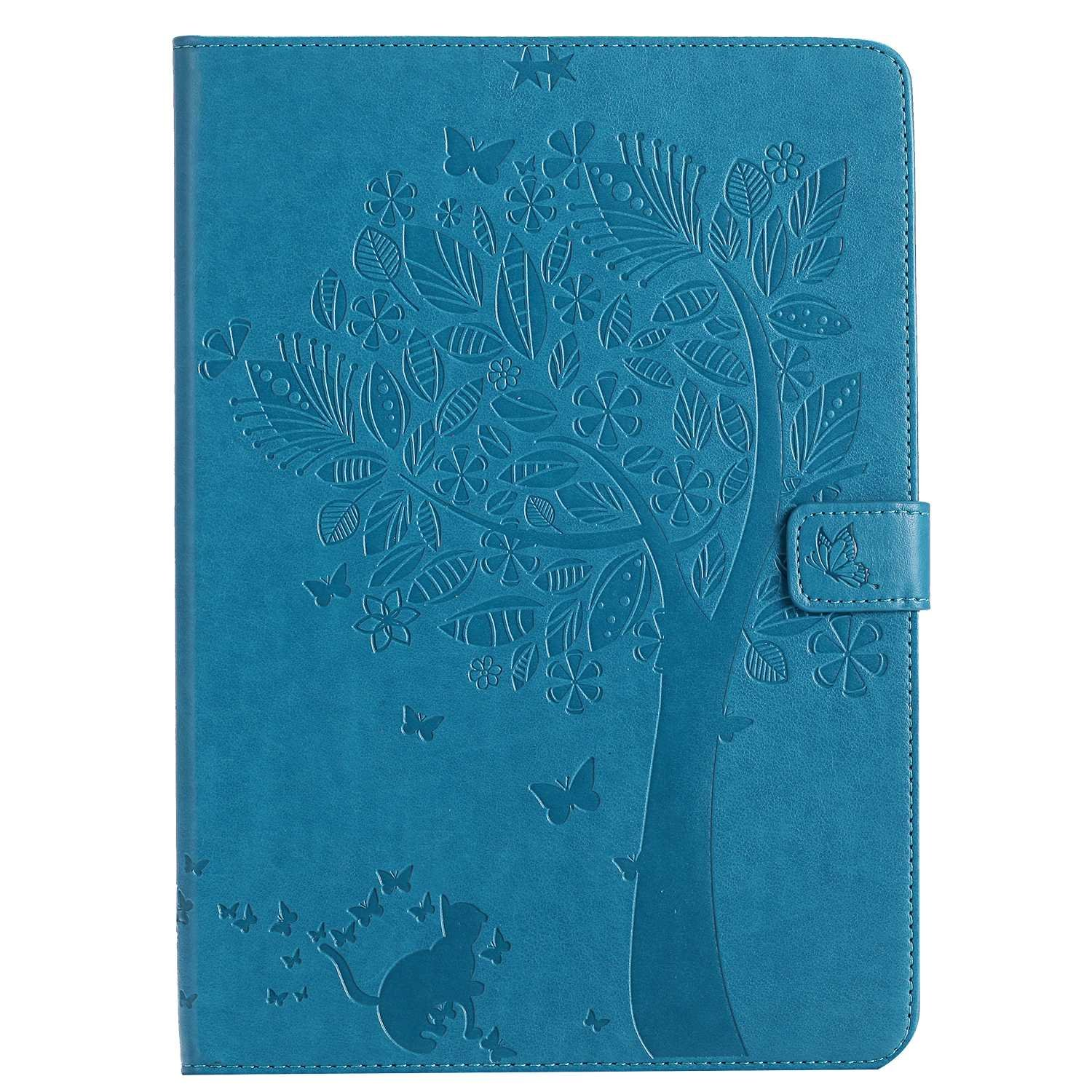 Bear Village iPad Pro 9.7 Inch Case, Leather Magnetic Case, Fullbody Protective Cover with Stand Function for Apple iPad Pro 9.7 Inch, Blue by Bear Village