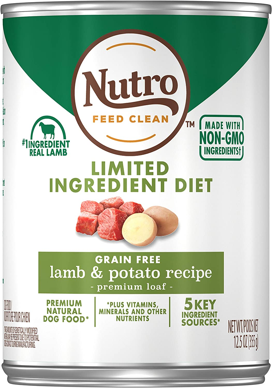 7. Nutro Limited Ingredient Diet Premium Loaf Grain-Free