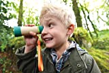 Hape Adjustable Telescope| Bamboo Spy Gear for Kids with 8X Magnification
