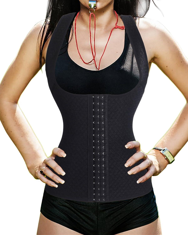 eadfe18663b best BRABIC Women Waist Trainer Corset Underbust Training Cincher Workout  Body Shaper