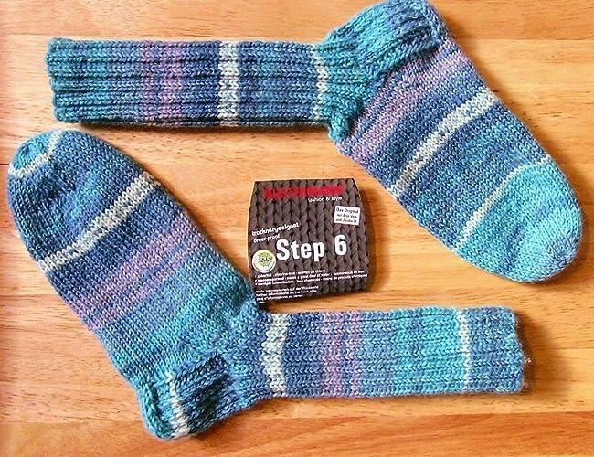 Calcetines tejidos a mano/tejidos / Calcetines de lana/Austermann / 6 ply/