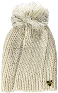 235888441f5 Betsey Johnson Scarf and Beanie Set (NEUTRAL) at Amazon Women s ...