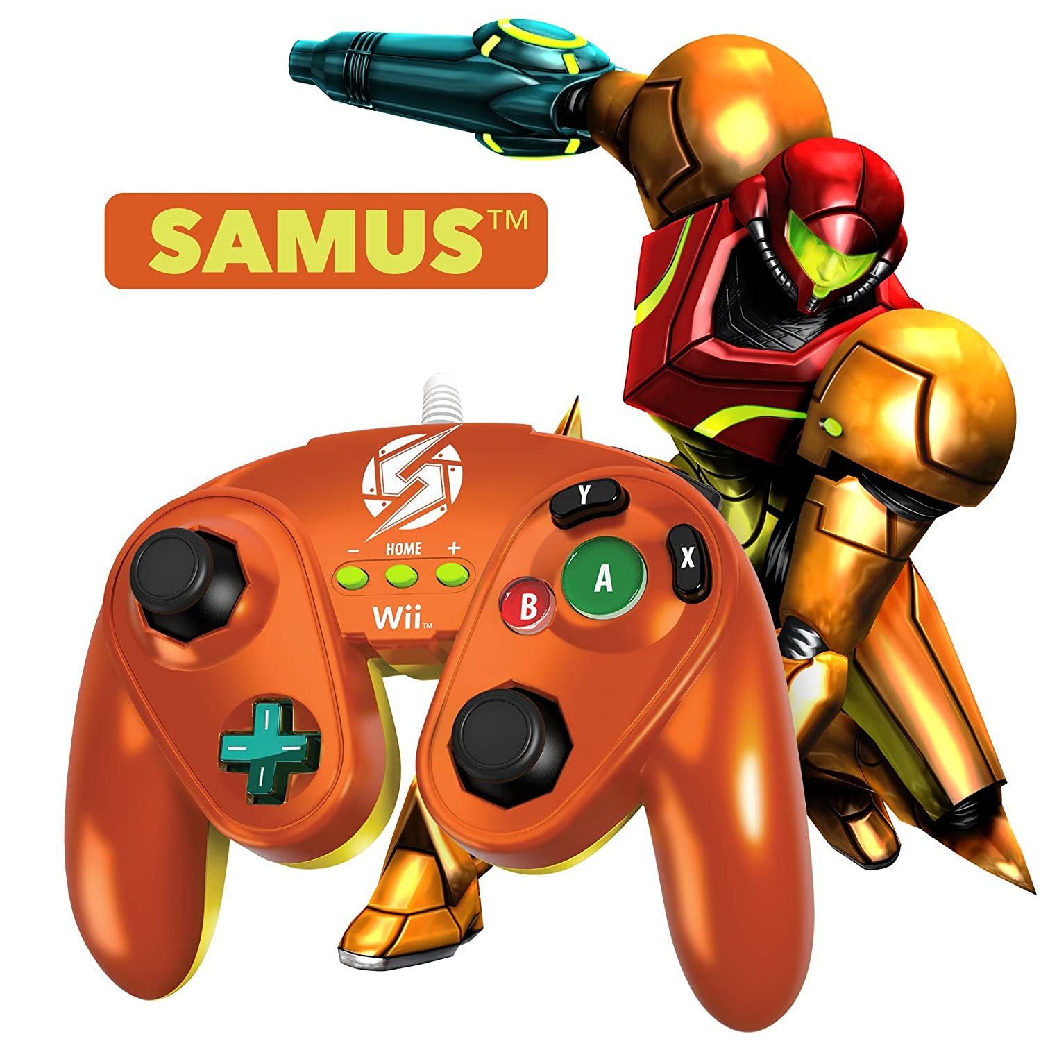 Pdp Wired Fight Pad For Wii U Samus Nintendo Mario Kart Luigi Circuit Games Dual Hd 3840x1080 Computer And Video