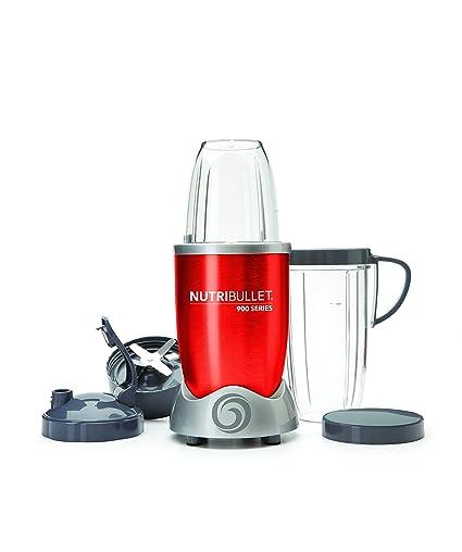 NutriBullet 900 W - Extractor de Zumo - [Importado, Instrucciones no en español]