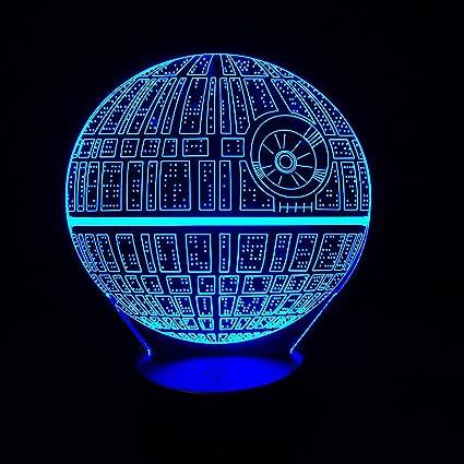 AlienTech Star Wars Death star 3D Visual LED Night Light