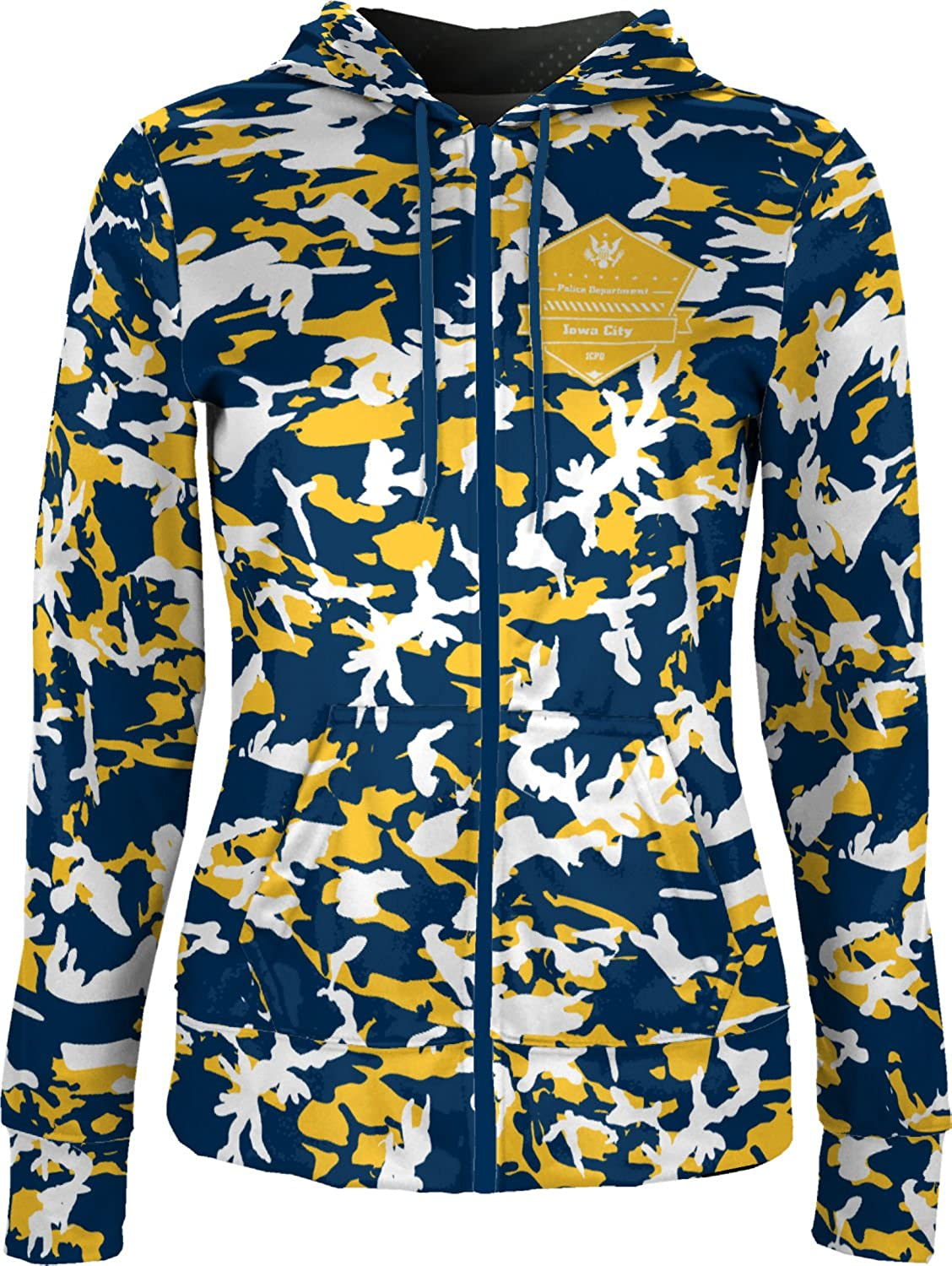 ProSphere Women's Iowa City Police Department Camo Fullzip Hoodie
