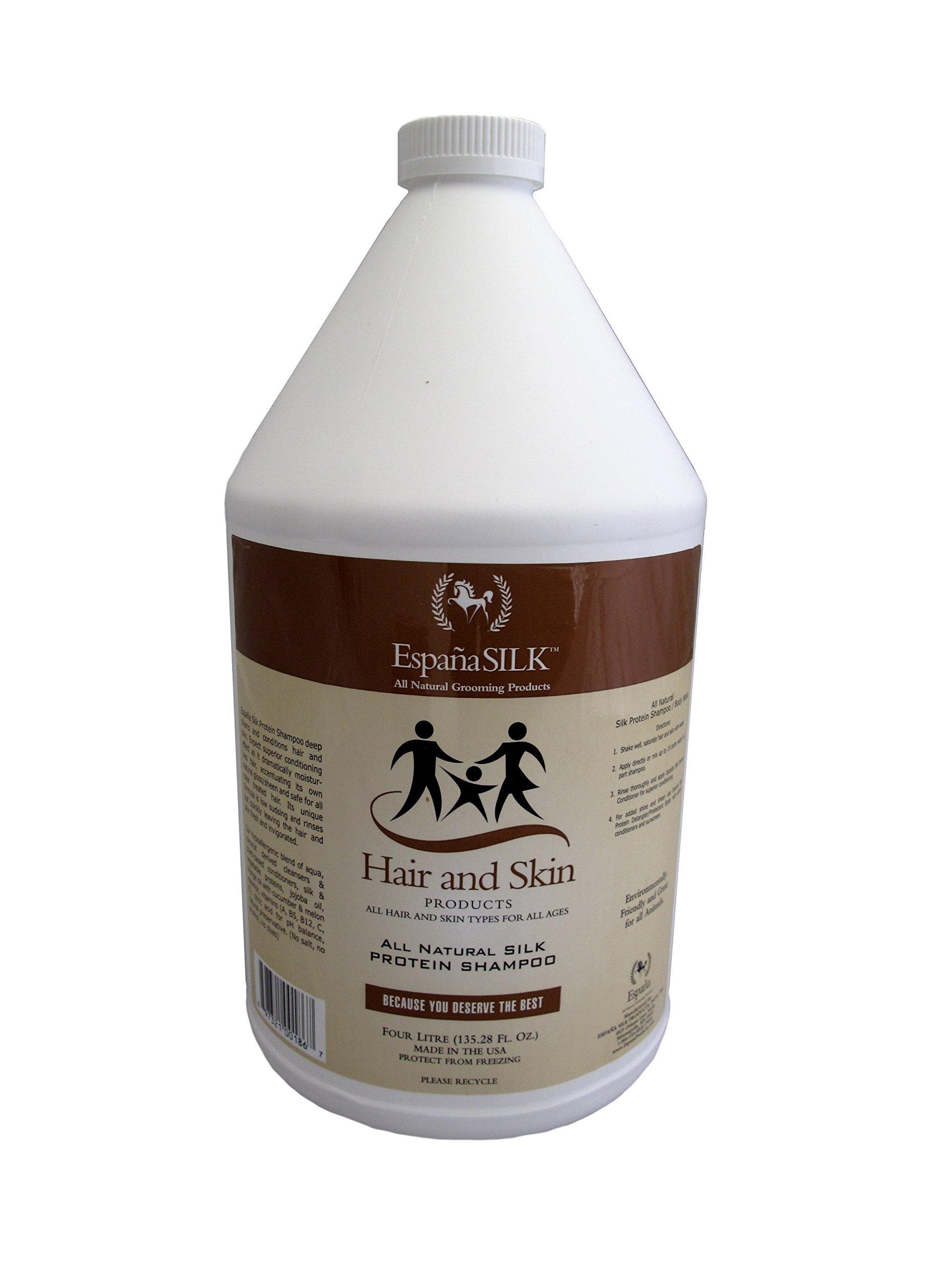 Espana Silk ESP0025P 135.28 oz Protein Shampoo, 4 L by EspanaSILK