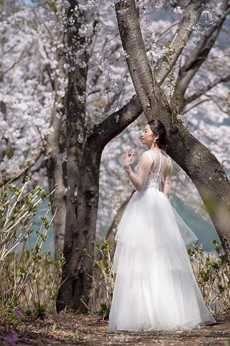 da2050c1185 Amazon.com  Fairy tale wedding dress - Paolo sebastian inspired  Handmade