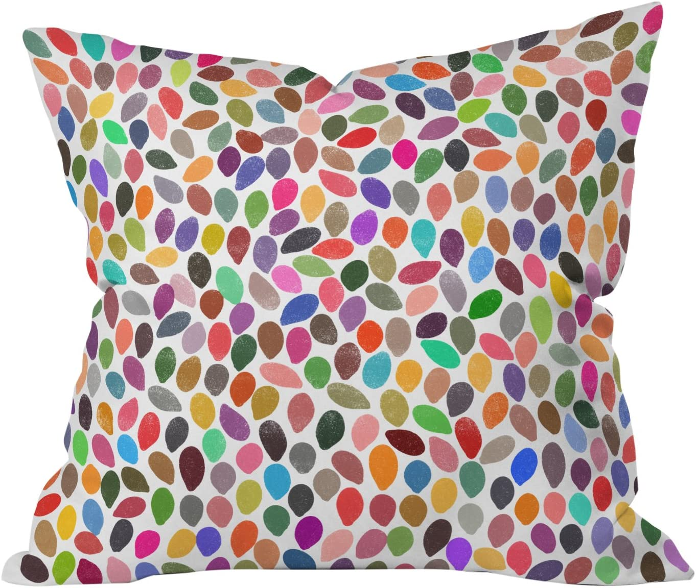 Deny Designs Garima Dhawan Rain 13 Throw Pillow, Extra Large 26 x 26