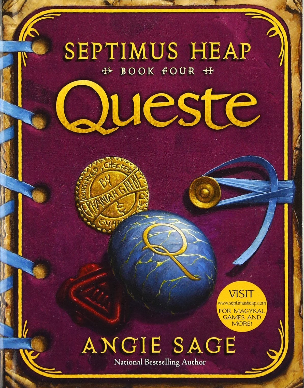 septimus heap book four queste angie sage mark zug septimus heap book four queste angie sage mark zug 9780060882099 com books