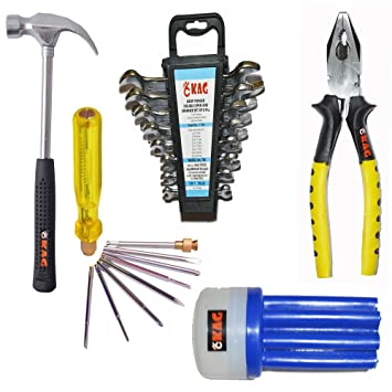 Kag 4 Pc Home Tool Set (19 Tools)