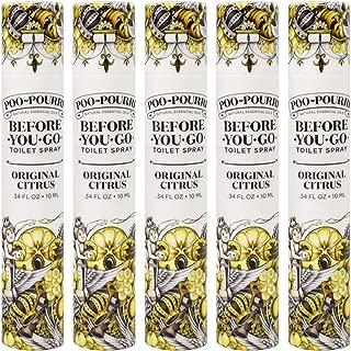 product image for Poo-Pourri Original Citrus 10mL 5 Pack