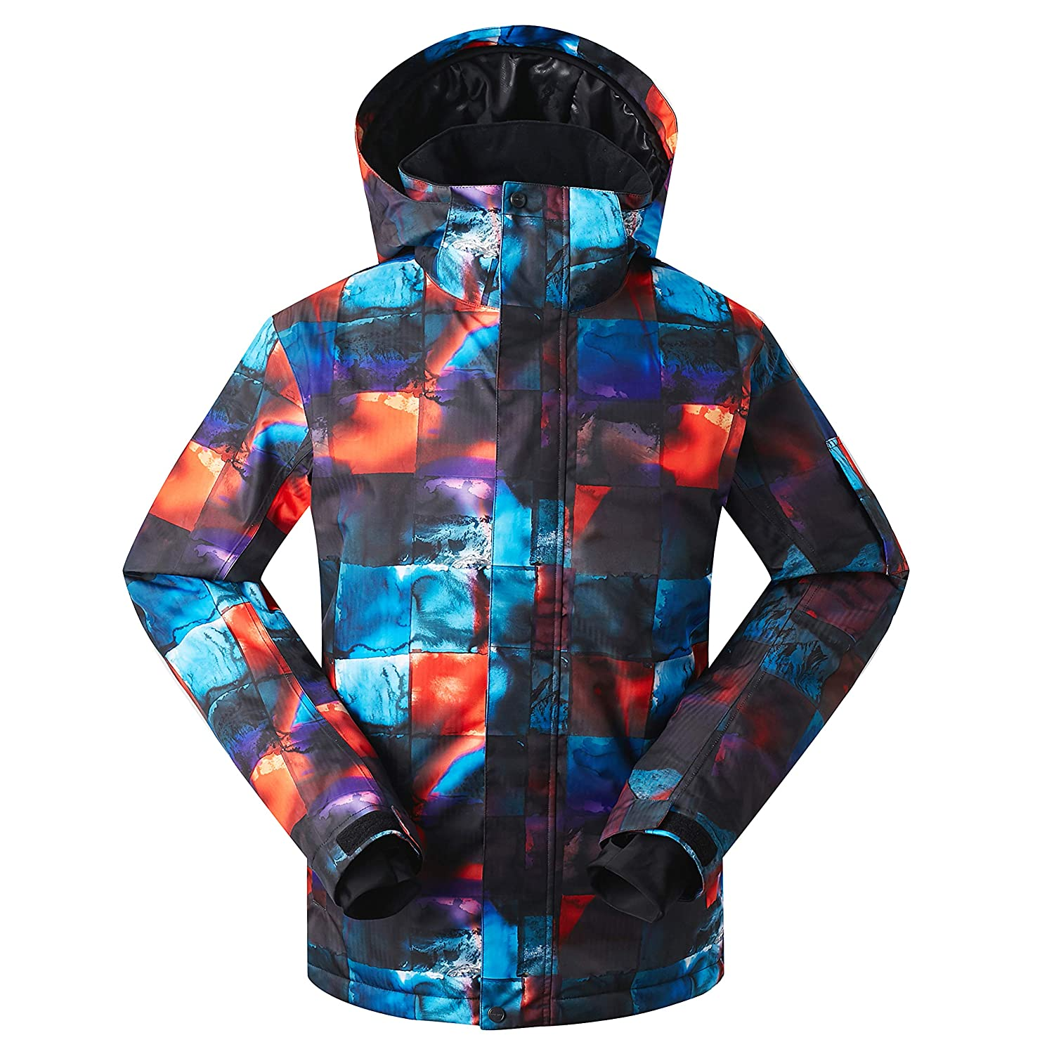 5f6640dc4f Amazon.com  GSOU Snow Men s Ski Jacket Snowboarding Windproof Waterproof  Snow Jacket for Men Insulated Coat for Winter Outdoor Sports  Clothing