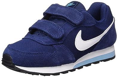 Nike Mädchen Md Runner 2 (PSV) Turnschuhe, Blau (Binary Blue