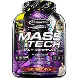 MuscleTech Mass Tech Pro Weight Gainer Protein Powder, Birthday Cake, 7lbs (3.18kg)
