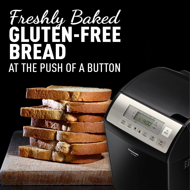 Panasonic SD-YR2500 Bread Maker with Gluten Free Mode and Yeast / Raisin / Nut Dispenser, Black by Panasonic (Image #5)