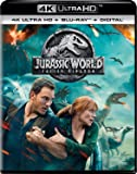 Jurassic World: Fallen Kingdom (Uncut) [4K Ultra HD/Blu-ray] (2018) | Imported from USA | Universal Studios | 128 min | Action Adventure Sci-Fi | Director: J.A. Bayona | Stars: Chris Pratt