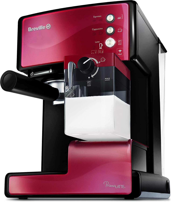 Breville VCF046X Prima Latte - Máquina de café: Amazon.es: Hogar
