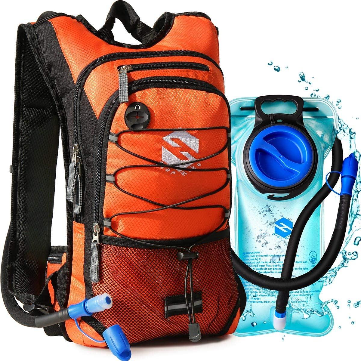 Homyl Mochila Deportivo Hydration Pack de Camping 2L Bolsa de Viaje para Bolsa de Agua para Mochila de Hombro 4/Colores