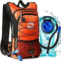 OlarHike Mochila de hidratación con Bolsa de 2 L sin BPA a Prueba de Fugas, Mochila de Agua aislada para Senderismo, Ciclismo, Correr, Camping