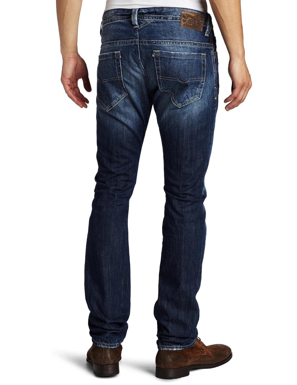 a353a874 Diesel Men's Thavar Slim Skinny Leg Jean 008B9, Denim, 28x30: Amazon.in:  Clothing & Accessories