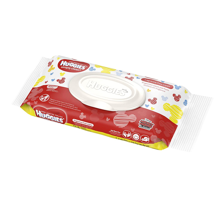 Amazon.com : Huggies Huggies Simply Clean Fragrance-Free Baby Wipes : Baby