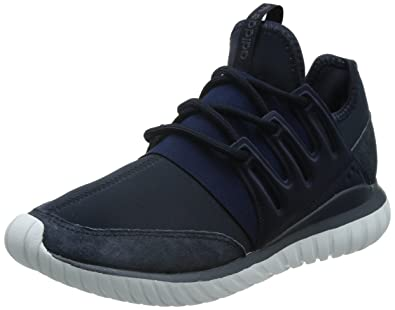 adidas Originals Men's Tubular Radial Trainers Navy US 8.5