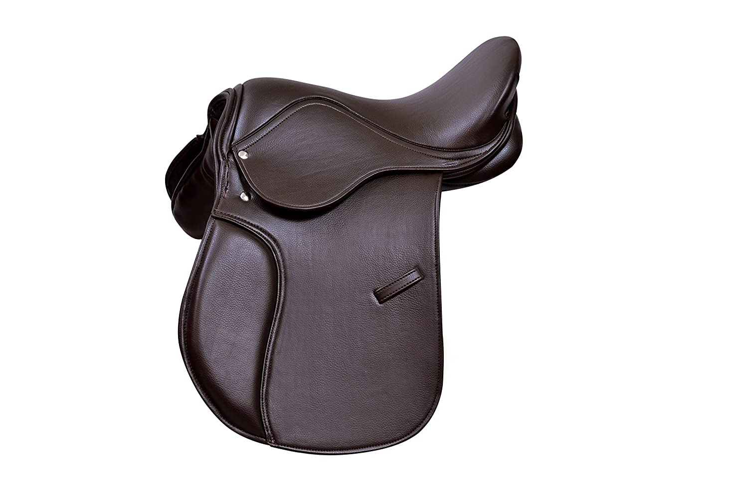 Pets2Care Synthetic General Purpose Saddle Premium Quaility Wide Fit, Black and Brown 16, 17 & 18