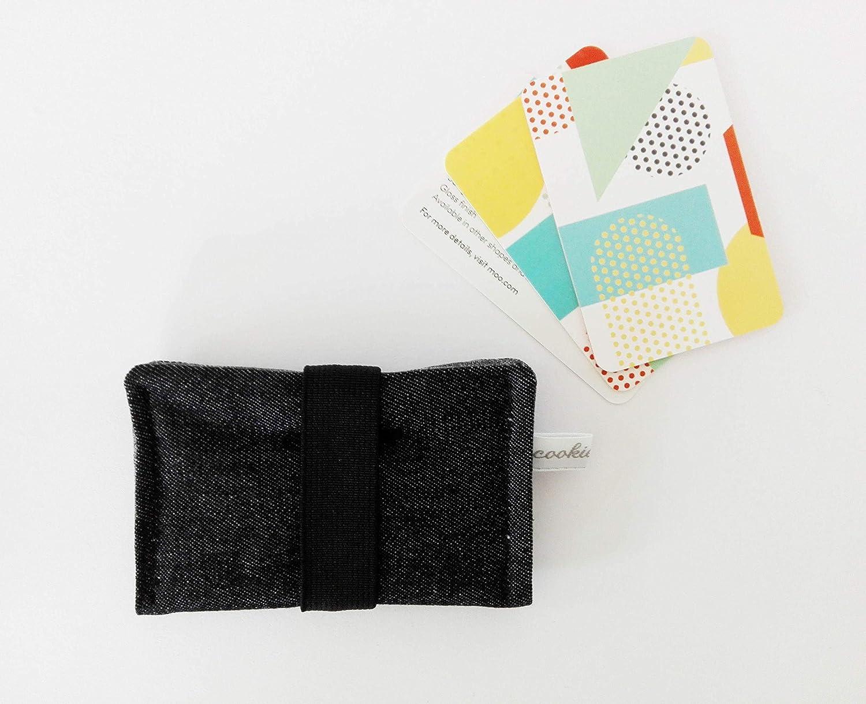 Kartenetui Mit Gummiband Für Bis 10 Karten Geldbörse