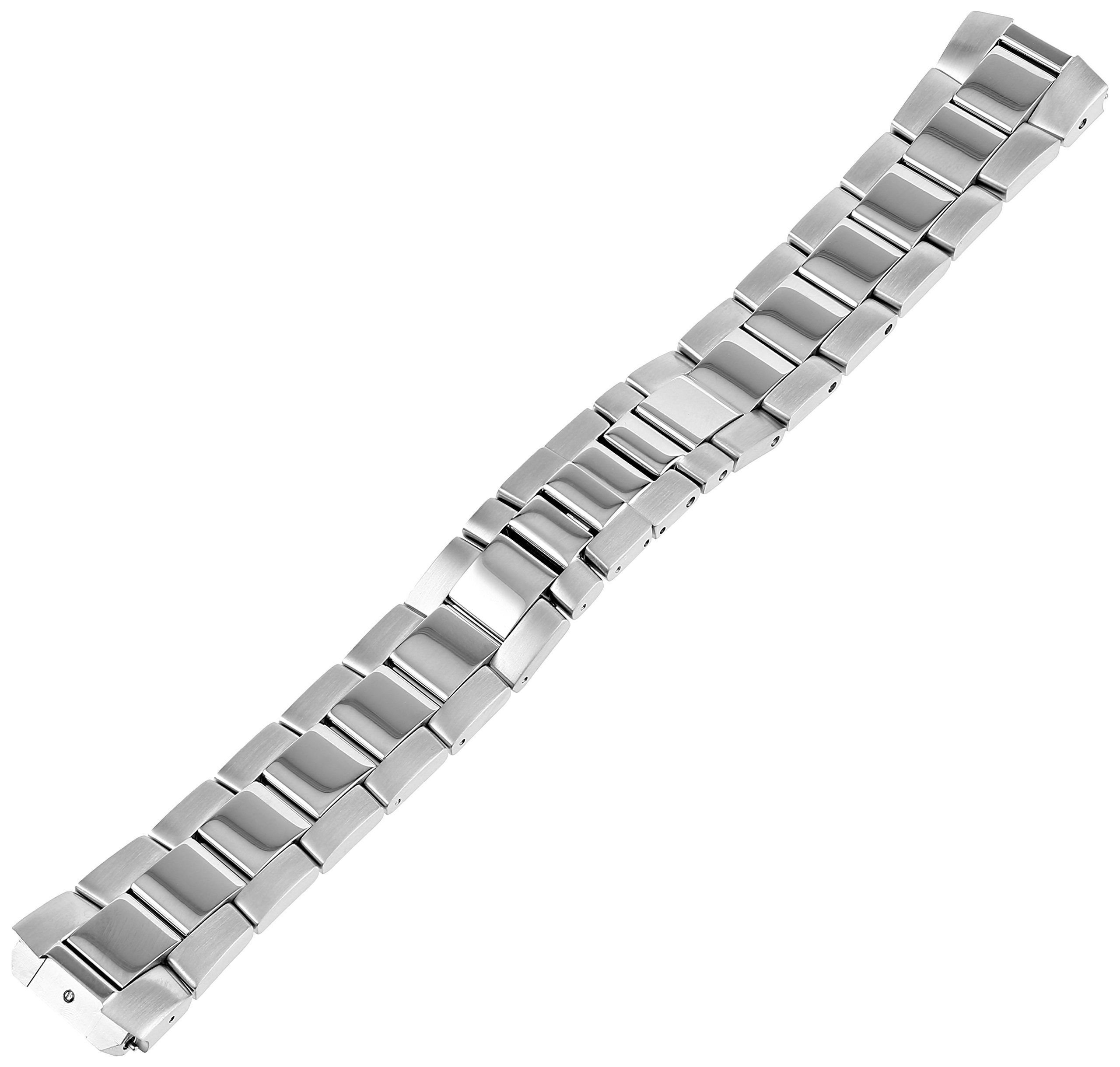 Philip Stein 2-SS 20mm Stainless Steel Silver-Tone Watch Bracelet by Philip Stein (Image #1)
