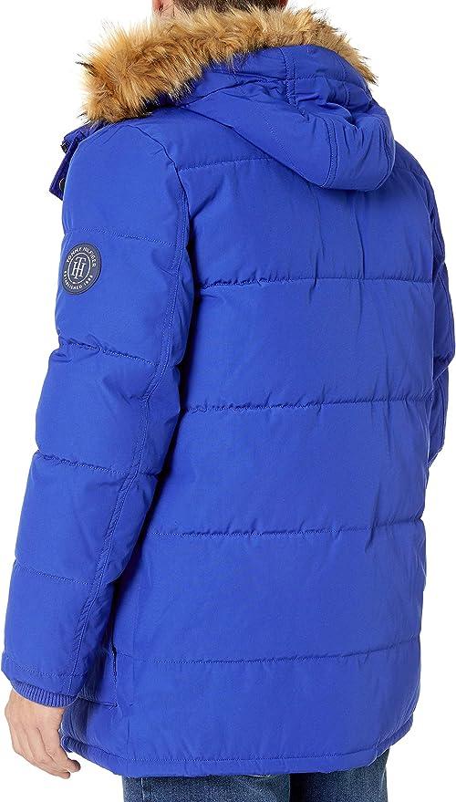 Tommy Hilfiger 汤美费格 男式连帽保暖棉服夹克 2.5折.63海淘转运到手约¥514