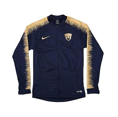 c0bd6e17e Men's Official 2018-2019 Pumas UNAM Anthem Jacket 920059-452 Navy (Small)