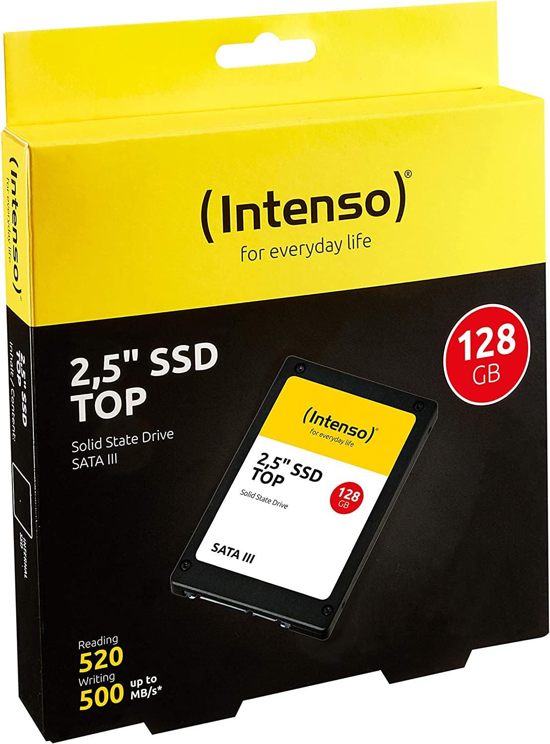 Intenso 3812440 - Disco de estado solido de 256 GB (2.5
