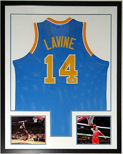 Image Unavailable. Image not available for. Color  Zach Lavine Signed Jersey  - Beckett Authentication Services BAS COA - Custom ... 5b6d9bd67